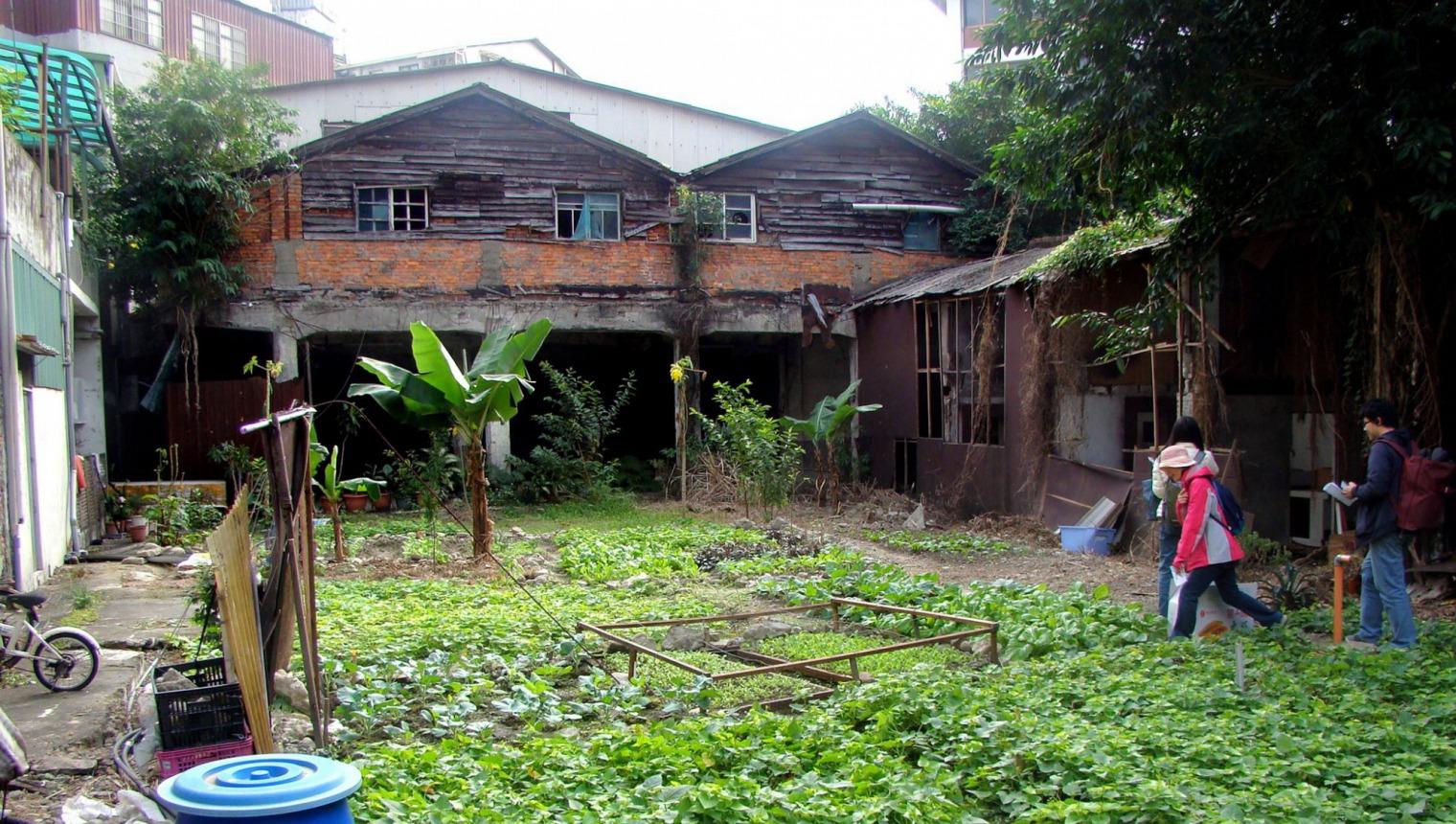 消失的舊六張犁市場遺址