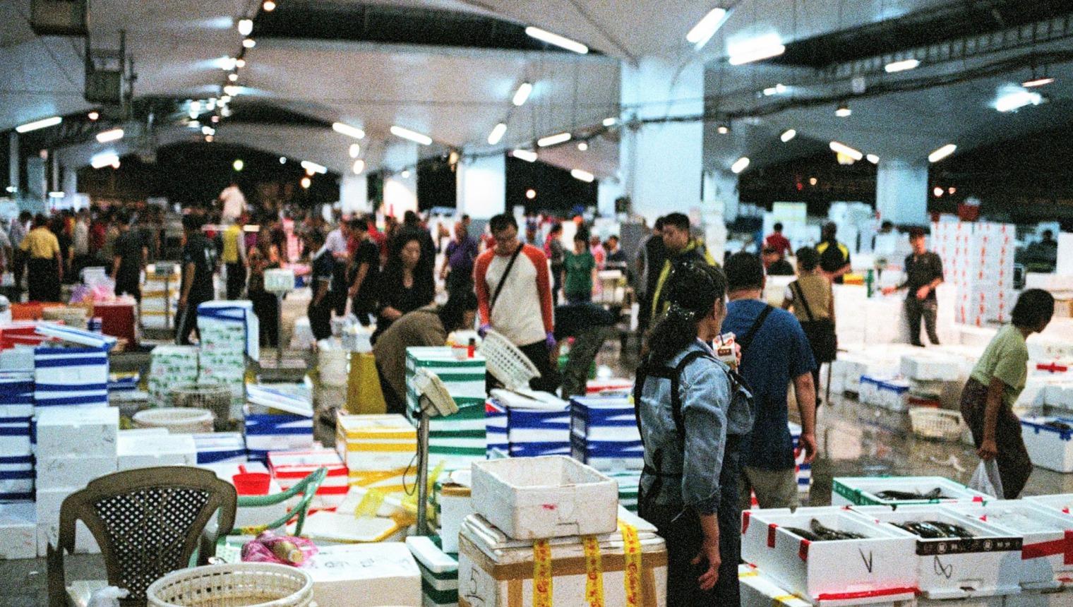 批發市場、魚市場、萬大路、中央漁貨市場